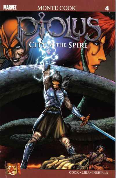 Ptolus: City by the Spire #4 comic books - cover scans photos Ptolus: City by the Spire #4 comic books - covers, picture gallery