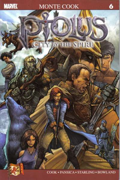 Ptolus: City by the Spire #6 comic books for sale