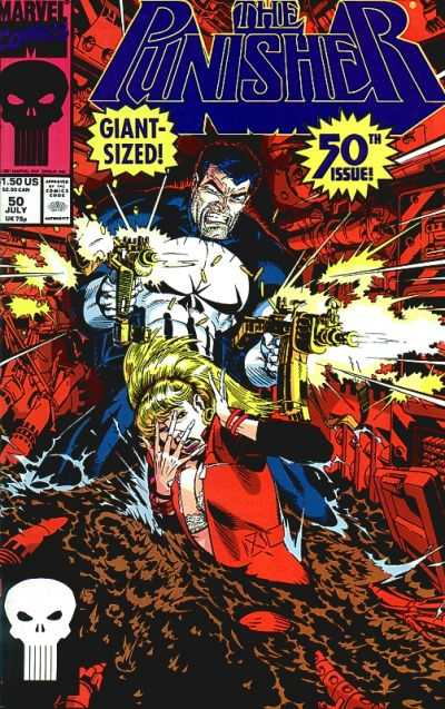 Punisher #50 Comic Books - Covers, Scans, Photos  in Punisher Comic Books - Covers, Scans, Gallery
