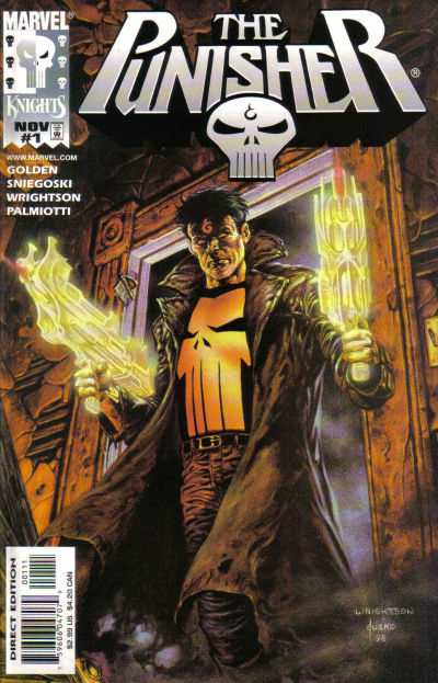 Punisher #1 Comic Books - Covers, Scans, Photos  in Punisher Comic Books - Covers, Scans, Gallery