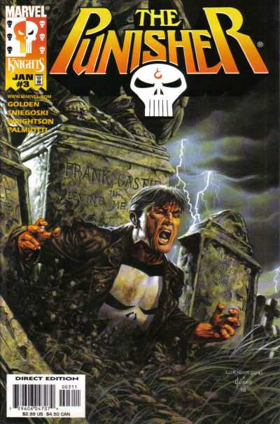 Punisher #3 comic books - cover scans photos Punisher #3 comic books - covers, picture gallery