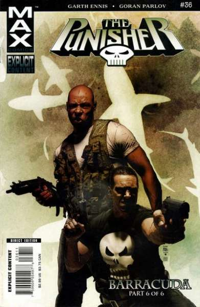 Punisher #36 comic books - cover scans photos Punisher #36 comic books - covers, picture gallery