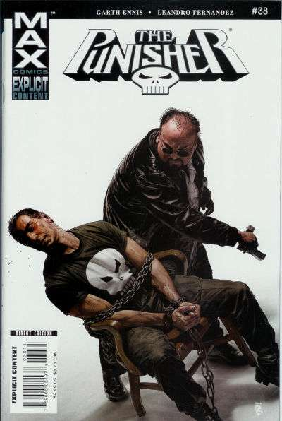 Punisher #38 comic books for sale