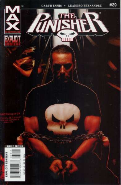 Punisher #39 Comic Books - Covers, Scans, Photos  in Punisher Comic Books - Covers, Scans, Gallery