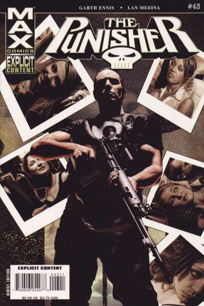 Punisher #43 comic books for sale