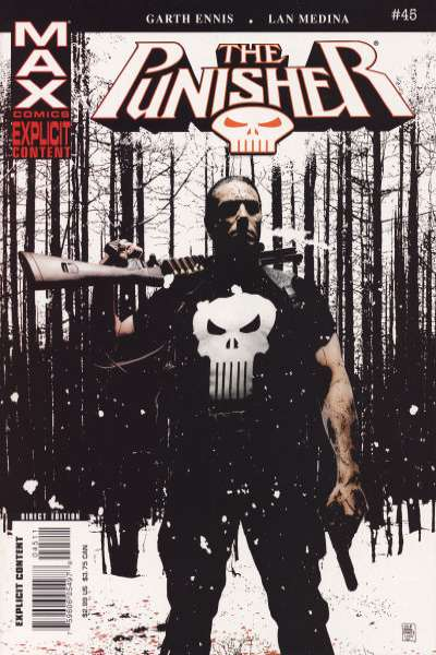Punisher #45 Comic Books - Covers, Scans, Photos  in Punisher Comic Books - Covers, Scans, Gallery