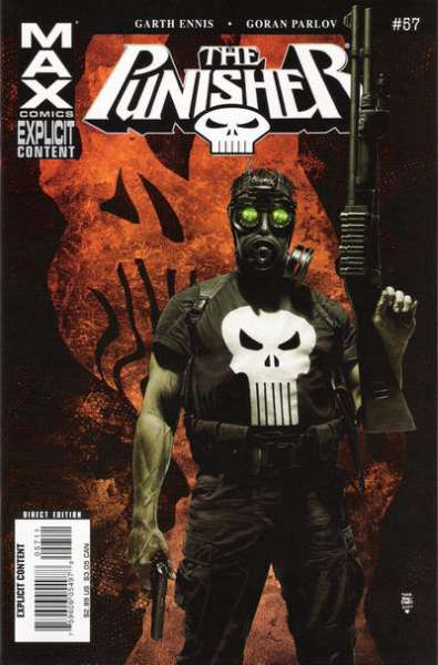Punisher #57 comic books - cover scans photos Punisher #57 comic books - covers, picture gallery