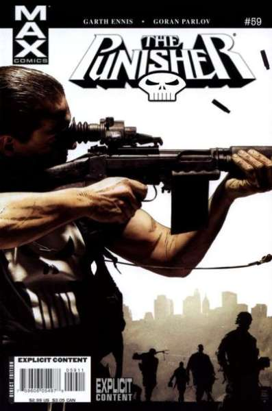 Punisher #59 comic books for sale