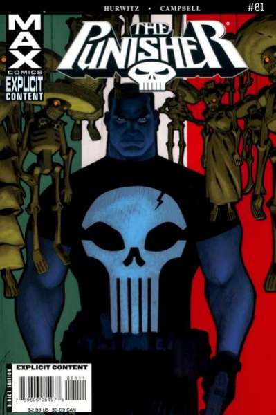 Punisher #61 comic books - cover scans photos Punisher #61 comic books - covers, picture gallery