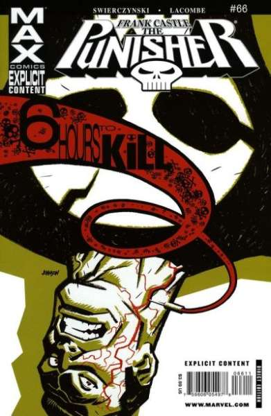 Punisher #66 Comic Books - Covers, Scans, Photos  in Punisher Comic Books - Covers, Scans, Gallery