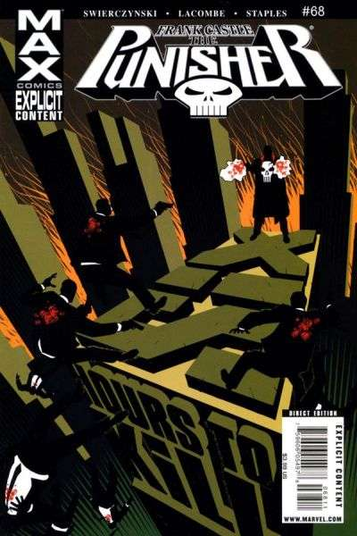 Punisher #68 Comic Books - Covers, Scans, Photos  in Punisher Comic Books - Covers, Scans, Gallery