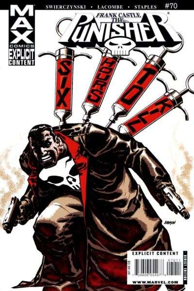 Punisher #70 Comic Books - Covers, Scans, Photos  in Punisher Comic Books - Covers, Scans, Gallery
