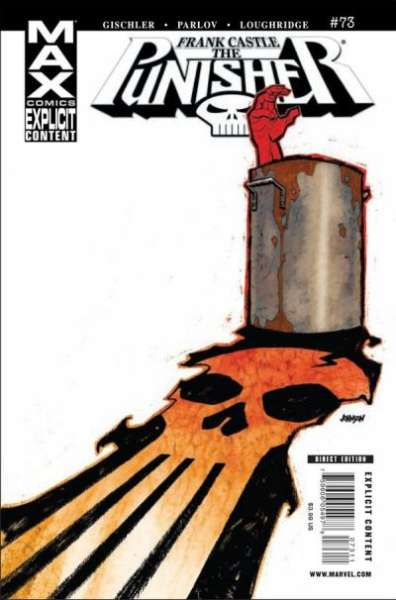 Punisher #73 comic books - cover scans photos Punisher #73 comic books - covers, picture gallery
