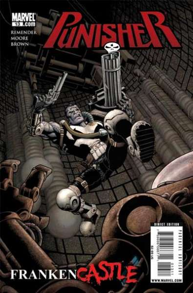 Punisher #13 comic books - cover scans photos Punisher #13 comic books - covers, picture gallery
