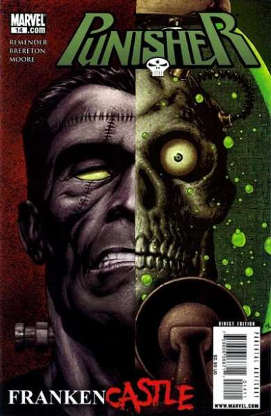 Punisher #14 comic books - cover scans photos Punisher #14 comic books - covers, picture gallery