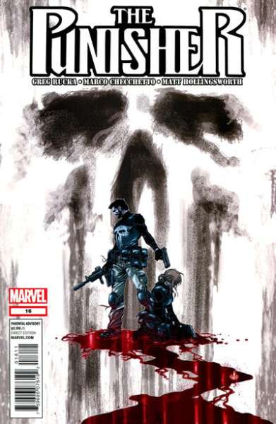 Punisher #16 comic books - cover scans photos Punisher #16 comic books - covers, picture gallery