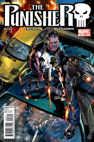 Punisher #2 comic books for sale
