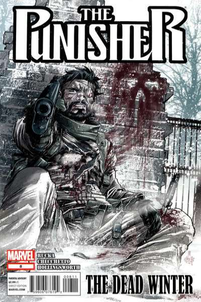 Punisher #8 Comic Books - Covers, Scans, Photos  in Punisher Comic Books - Covers, Scans, Gallery