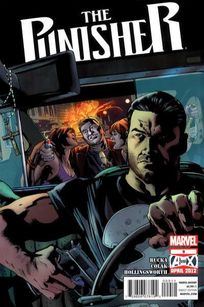 Punisher #9 comic books for sale