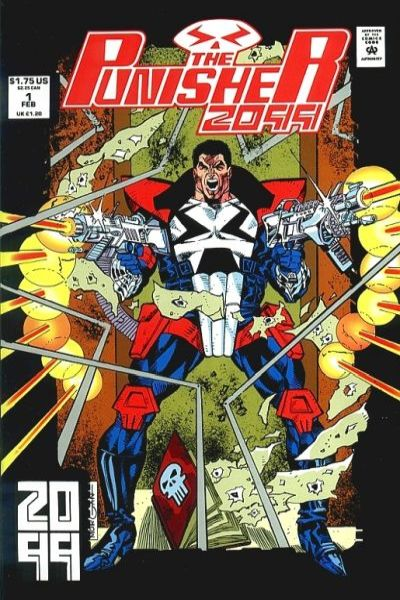 Punisher 2099 #1 Comic Books - Covers, Scans, Photos  in Punisher 2099 Comic Books - Covers, Scans, Gallery