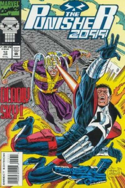 Punisher 2099 #12 Comic Books - Covers, Scans, Photos  in Punisher 2099 Comic Books - Covers, Scans, Gallery