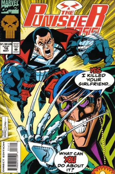 Punisher 2099 #16 Comic Books - Covers, Scans, Photos  in Punisher 2099 Comic Books - Covers, Scans, Gallery
