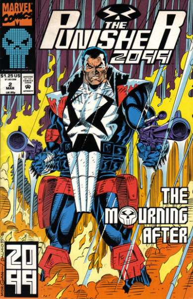 Punisher 2099 #2 Comic Books - Covers, Scans, Photos  in Punisher 2099 Comic Books - Covers, Scans, Gallery