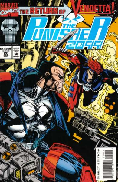 Punisher 2099 #20 Comic Books - Covers, Scans, Photos  in Punisher 2099 Comic Books - Covers, Scans, Gallery