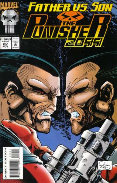 Punisher 2099 #22 Comic Books - Covers, Scans, Photos  in Punisher 2099 Comic Books - Covers, Scans, Gallery