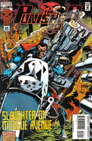 Punisher 2099 #24 Comic Books - Covers, Scans, Photos  in Punisher 2099 Comic Books - Covers, Scans, Gallery