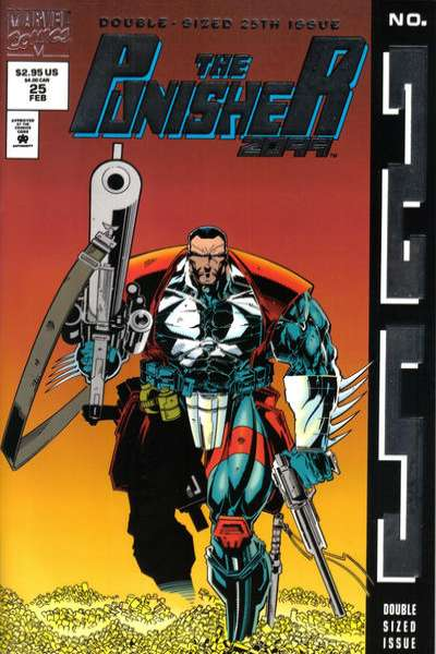 Punisher 2099 #25 Comic Books - Covers, Scans, Photos  in Punisher 2099 Comic Books - Covers, Scans, Gallery