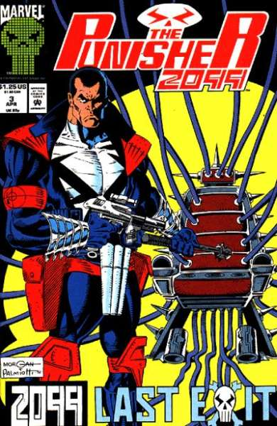 Punisher 2099 #3 Comic Books - Covers, Scans, Photos  in Punisher 2099 Comic Books - Covers, Scans, Gallery