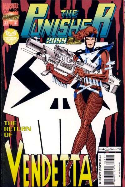 Punisher 2099 #33 Comic Books - Covers, Scans, Photos  in Punisher 2099 Comic Books - Covers, Scans, Gallery
