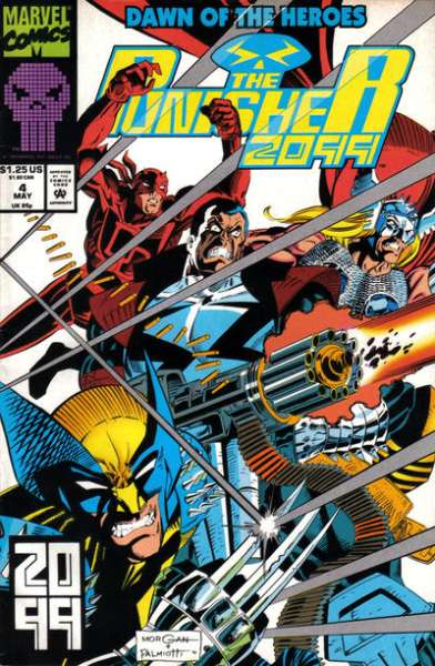 Punisher 2099 #4 comic books for sale