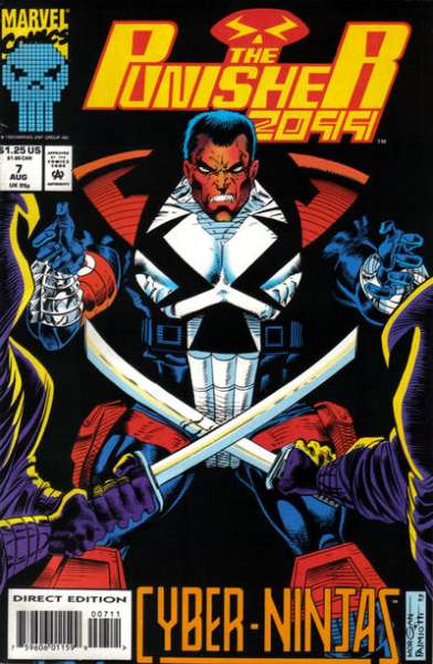 Punisher 2099 #7 Comic Books - Covers, Scans, Photos  in Punisher 2099 Comic Books - Covers, Scans, Gallery