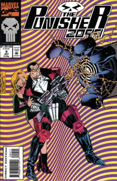 Punisher 2099 #9 Comic Books - Covers, Scans, Photos  in Punisher 2099 Comic Books - Covers, Scans, Gallery