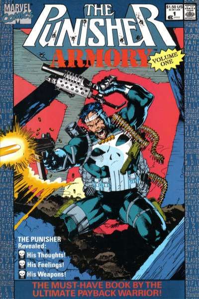 Punisher Armory comic books