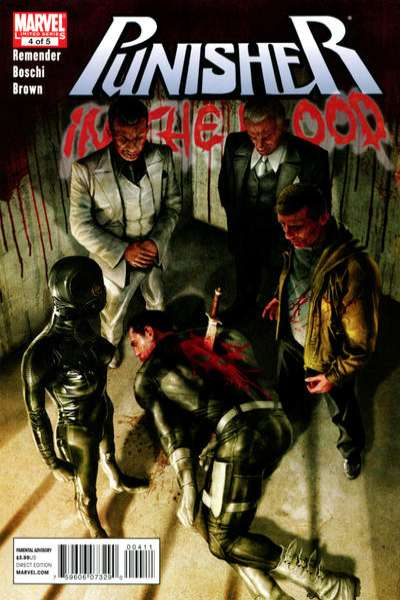 Punisher: In the Blood #4 comic books - cover scans photos Punisher: In the Blood #4 comic books - covers, picture gallery