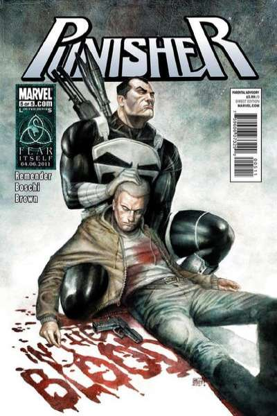 Punisher: In the Blood #5 comic books - cover scans photos Punisher: In the Blood #5 comic books - covers, picture gallery