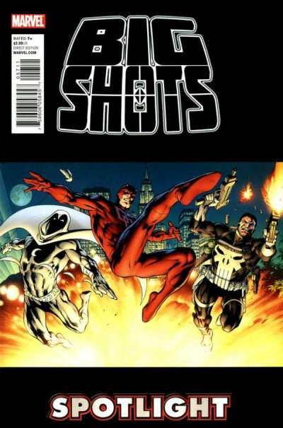 Punisher Moon Knight & Daredevil: The Big Shots #1 comic books for sale