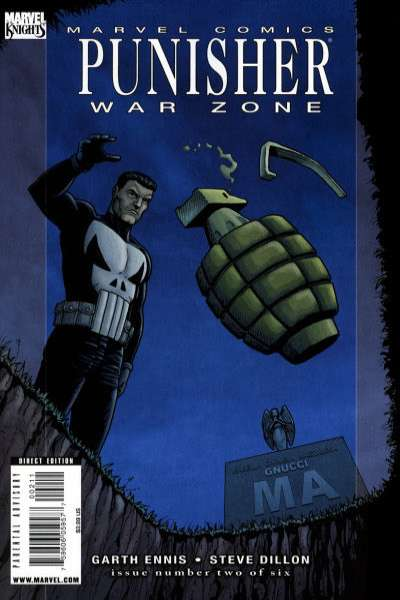 Punisher: War Zone #2 comic books for sale