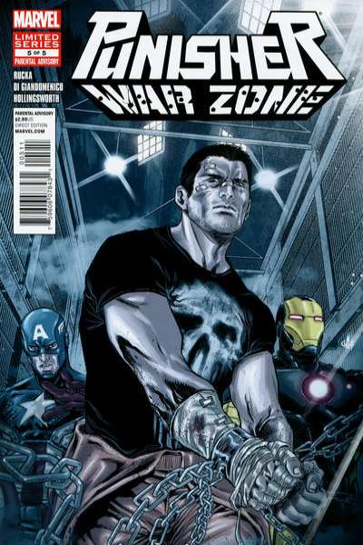 Punisher: War Zone #5 comic books for sale