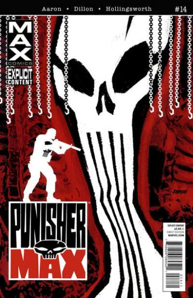 Punishermax #14 comic books - cover scans photos Punishermax #14 comic books - covers, picture gallery