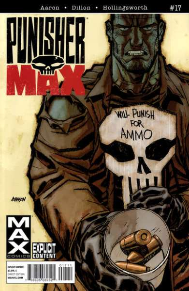 Punishermax #17 Comic Books - Covers, Scans, Photos  in Punishermax Comic Books - Covers, Scans, Gallery