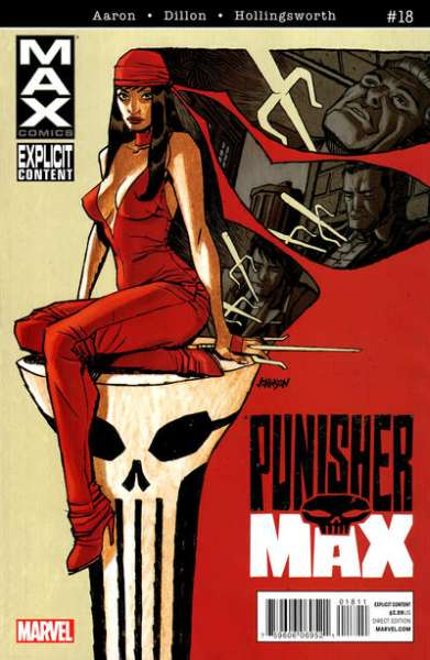Punishermax #18 comic books - cover scans photos Punishermax #18 comic books - covers, picture gallery