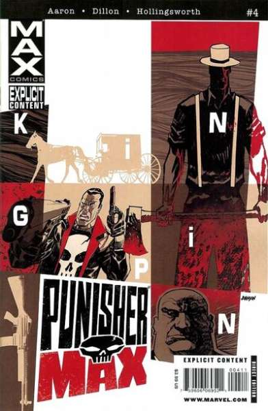 Punishermax #4 comic books - cover scans photos Punishermax #4 comic books - covers, picture gallery