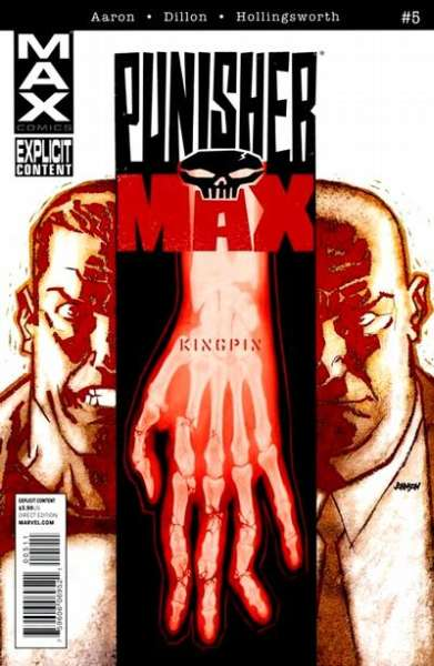 Punishermax #5 comic books - cover scans photos Punishermax #5 comic books - covers, picture gallery