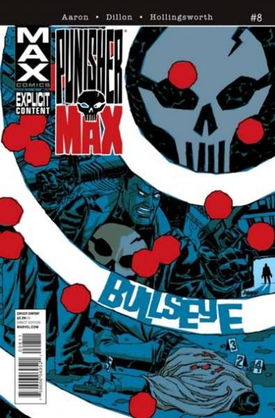 Punishermax #8 comic books for sale
