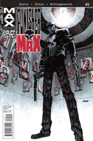 Punishermax #9 comic books - cover scans photos Punishermax #9 comic books - covers, picture gallery