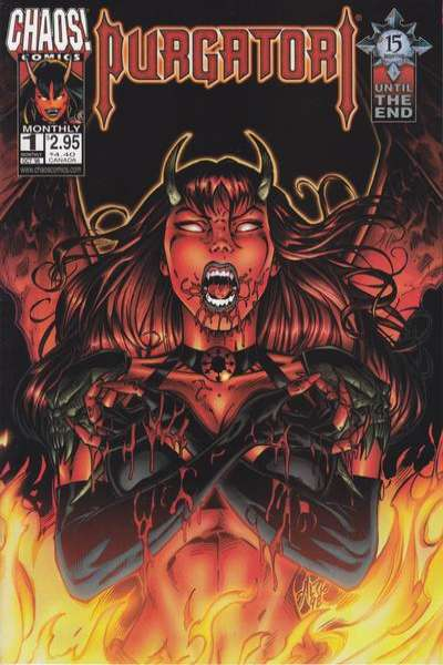Purgatori comic books